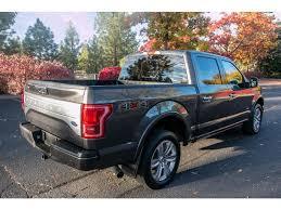 100 Ford 2015 Truck PreOwned F150 Platinum 35L V6 4v4 EcoBoost 4WD