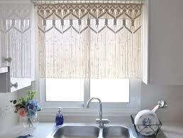Natural Bamboo Beaded Door Curtain by Knowledge Brown And Blue Drapes Tags Blue And Cream Curtains