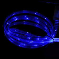 CELL TECH LED Charger Light Up Charging Cable Luminescent Visible