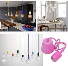 princeway farbe silikon moderne hängele befestigung europäische ikea stil diy einfache installation für beleuchtung für zuhause in küche