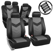 Amazon.com: FH GROUP FH-PU021115 Synthetic Leather Full Set Auto ... Dodge Ram Pickup Seat Covers Unique 1500 Leather Truck Seat Covers Lvo Fh4 Black Eco Leather For Jeep Wrangler Truck Leatherlite Series Custom Fit Fia Inc Auto Upholstery Convertible Tops Mccoys New York Ny By Clazzio Man Tga Katzkin Vs 20pc Faux Gray Black Set Heavy Duty Rubber Diamond Front Cover Masque Luxury Supports Car Microfiber