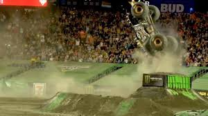 100 Monster Truck Backflip One Of The BIGGEST Jam Backflips EVER Tom Meents MaxD