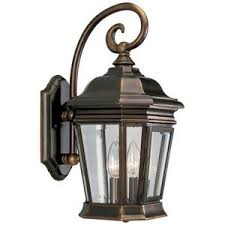 pp5686108 entrance outdoor wall light rubbed bronze