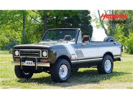 1978 International Harvester Scout II For Sale   ClassicCars.com ... 1963 Scout 80 Cabtop Scouting Civil Defense Inttionalscoutoverlanedlights The Fast Lane Truck 1979 Traveler Old Intertional Parts Bangshiftcom Could This Be Most Bad Ass 1978 Harvester Ii Terra Franks Car Barn Revved Up Work On Belding Mans Is As Ih Intionalharvester 4x4 Light Trucks Curbside Classic 1976 Hometown Twotone Intertional Scout 800 1980 Overview Cargurus For Sale Near Cadillac Michigan
