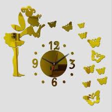 Horloge Mural 3d Achat Vente Pas Cher Horloge Murale 3d Effet Miroir Achat Vente Pas Cher