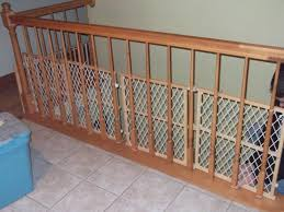 Baby Proofing Your Banister...just Zip Tie Some Baby Gates. Works ... Infant Safety Gates For Stairs With Rod Iron Railings Child Safe Plexiglass Banister Shield Baby Homes Kidproofing The Banister From Incomplete Guide To Living Gate For With Diy Best Products Proofing Montgomery Gallery In Houston Tx Precious And Wall Proof Ideas Collection Of Solutions Cheap Way A Stairway Plexi Glass Long Island Ny Youtube Safety Stair Railings Fabric Weaved Through Spindles Children Och Balustrades Weland Ab