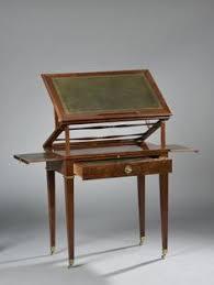 carlo bugatti 1856 1940 bureau au modèle en bois noirçi et teinté