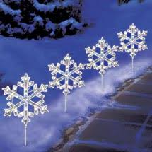 Outdoor Christmas Lights from Walmart Shrub Lights Snowflake