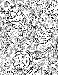 Alisaburke A FALL Coloring Page For You Colouring Sheets AdultsFall