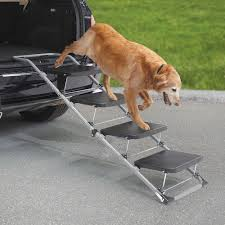 The Portable Pet Staircase Or Ramp - Hammacher Schlemmer - LOVE ... Solvit Deluxe Xl Telescoping Pet Ramp Champ Telescopic Dog From Easy Animal 5 Foot Folding For Cardoor Lweight Anti Slip Mr Hzhers Smart 70 Reviews Wayfair Extrawide Ramps Discount Gear Travel Lite Bi Fold Full Black Blue 176263 Collapsible Loader Steps Vehicles New Suv Build A Foldable Best Suvs Cars And Trucks Pro Ultralite Bifold Chewycom