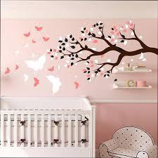 sticker chambre bébé fille stickers chambre bebe stickers chambre bacbac fille arbre stickers