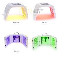 PDT Red Blue Green Yellow LED Light Therapy Machine Red Light