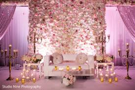 Reception Stageindian Wedding Planning And Designindian Floral Decor