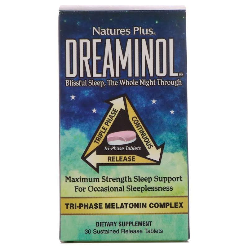 Nature's Plus Dreaminol Tablets - x30
