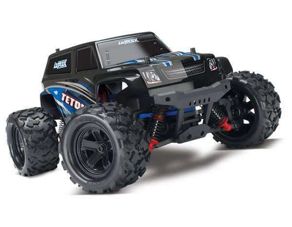 LaTrax Teton: 1/18 Scale 4WD Electric Monster Truck. Blue