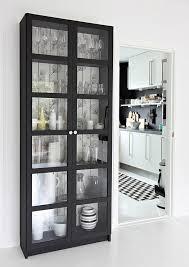 6 DIY Wallpaper Ideas For Home Decoration Billy BookcasesKitchen Display CabinetBlack