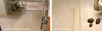 Moderno Hardwood Flooring Grain Color Shade Variance Photo Reference For Maple White Plains