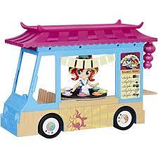100 Sushi Truck My Little Pony Equestria Girls Rollin Walmartcom