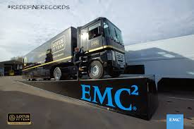 World-Record Truck Jump By EMC And Lotus F1 Team | AdStasher