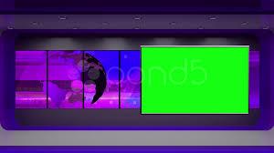 News TV Studio Set 31