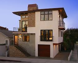 stucco window trim exterior contemporary with flat roof wooden