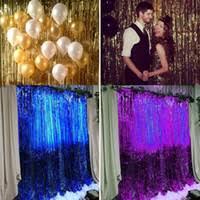 wholesale metallic foil curtains buy cheap metallic foil