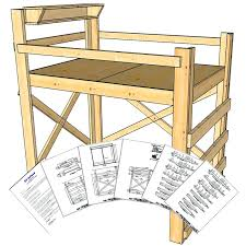 Loft Bed Woodworking Plans by Www Act4 Co Wp Content Uploads 2017 12 Loft Bed Pl