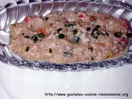 cuisine antou rougail bringelle par christian antou goutanou cuisine de l île