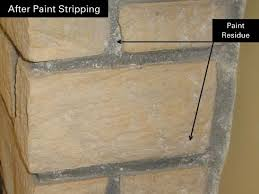 how to remove paint residue from cement or brick 皓 1912