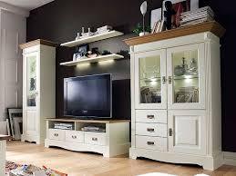 wohnzimmer schrank wohnwand set padua 5 teilig b 354 x h 204 x t 56 cm pinie nordica massiv