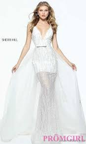 ivory long sleeve short lace prom dress sh 51223