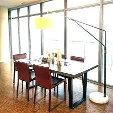 Dining Room Table Lamps Singular Arc Floor Lamp For Design Unique