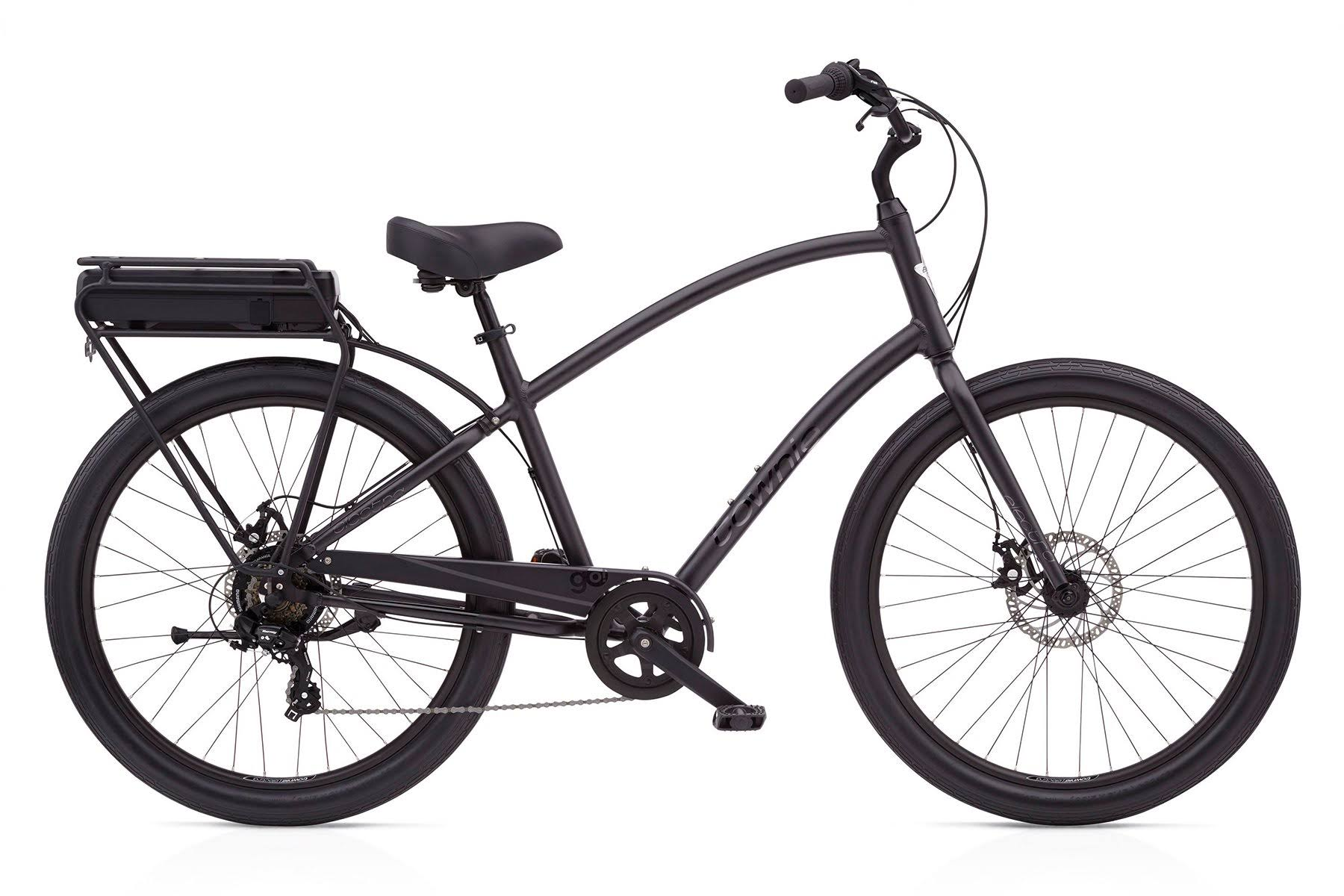 Electra Townie Go! 7D Step-Over Bike Matte Black