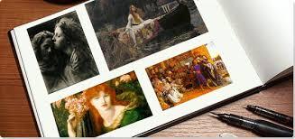 The Pre Raphaelite Movement Collage