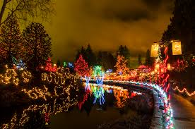 Festival of Lights at VanDusen Gardens in Vancouver BC
