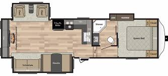 Fifth Wheel Bunkhouse Floor Plans by New Or Used Fifth Wheel Campers For Sale Rvs Near Chattanooga