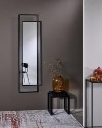 casa padrino designer wandspiegel schwarz 50 x h 170 cm wohnzimmer spiegel garderoben spiegel designer spiegel luxus kollektion