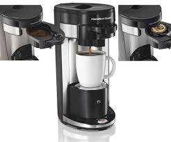 Hamilton Beach One Cup Coffee Maker Reviews Single Serving On Keurig K