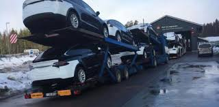 100 Truck Transporters Teslas Car Shipments In Norway Keep Being Shut Down For Using