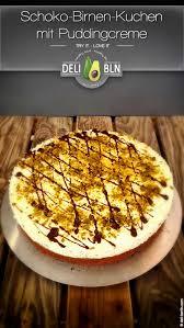 rezept für einen schoko birnen kuchen mit vanille