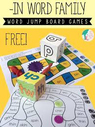 Two Fun And Free Board Games For Learning In Words