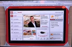 tablette cuisine qooq qooq tablet la cuisine tactile et facile abricocotier fr