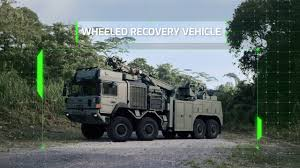 100 National Lift Truck Service New Recovery Vehicle For Singapore Army Features Higher