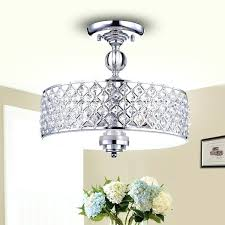 Round Light Fixture Silver Chrome Crosshatch Lamp Fixtures Lowest Price