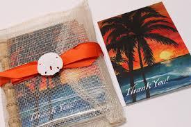 Hawaiian Themed Wedding Invitations