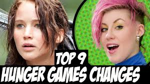 Halloween Town Cast Change by Top 9 Hunger Games Changes Book To Movie Youtube