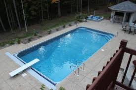 Inground Pools With Diving Board And Slide Other