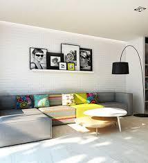 tolle wandgestaltung für das wohnzimmer ein brett mit