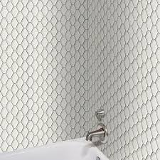 4 Inch Drain Tile Menards by Tileport Convex Hex Hexagon 13