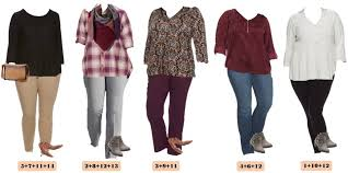 Check Out These Super Cute Fall Plus Size Outfits From Kohls The Pieces Mix And